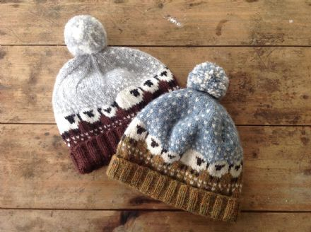 Baa-ble Hat - Shetland Wool Week 2015 - Donna Smith
